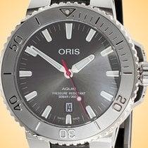 Oris Aquis Date Steel 43.5mm Grey United States of America, Illinois, Northfield