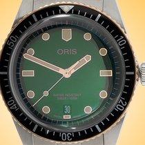 Oris Divers Sixty Five Steel 40mm Green United States of America, Illinois, Northfield