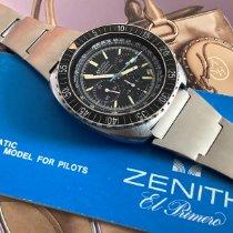 Zenith Pilot Type 20 occasion 43mm Noir Chronographe Date Acier