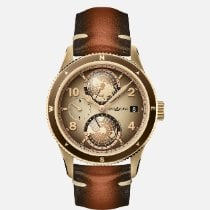 Montblanc 1858 128504 New Bronze 42mm Automatic