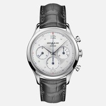 Montblanc Heritage Chronométrie Steel 41mm White Arabic numerals United States of America, New Jersey, River Edge