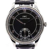 IWC Portuguese Hand-Wound Steel 44mm Black Arabic numerals United Kingdom, London