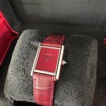Cartier Tank (submodel) Ocel Červená Bez čísel