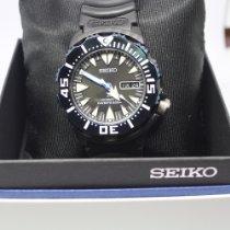 Seiko Plastic Automatic Black No numerals new Prospex