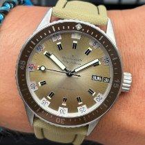 Blancpain Fifty Fathoms Bathyscaphe neu 2020 Automatik Uhr mit Original-Box und Original-Papieren 5052-1146-E52A