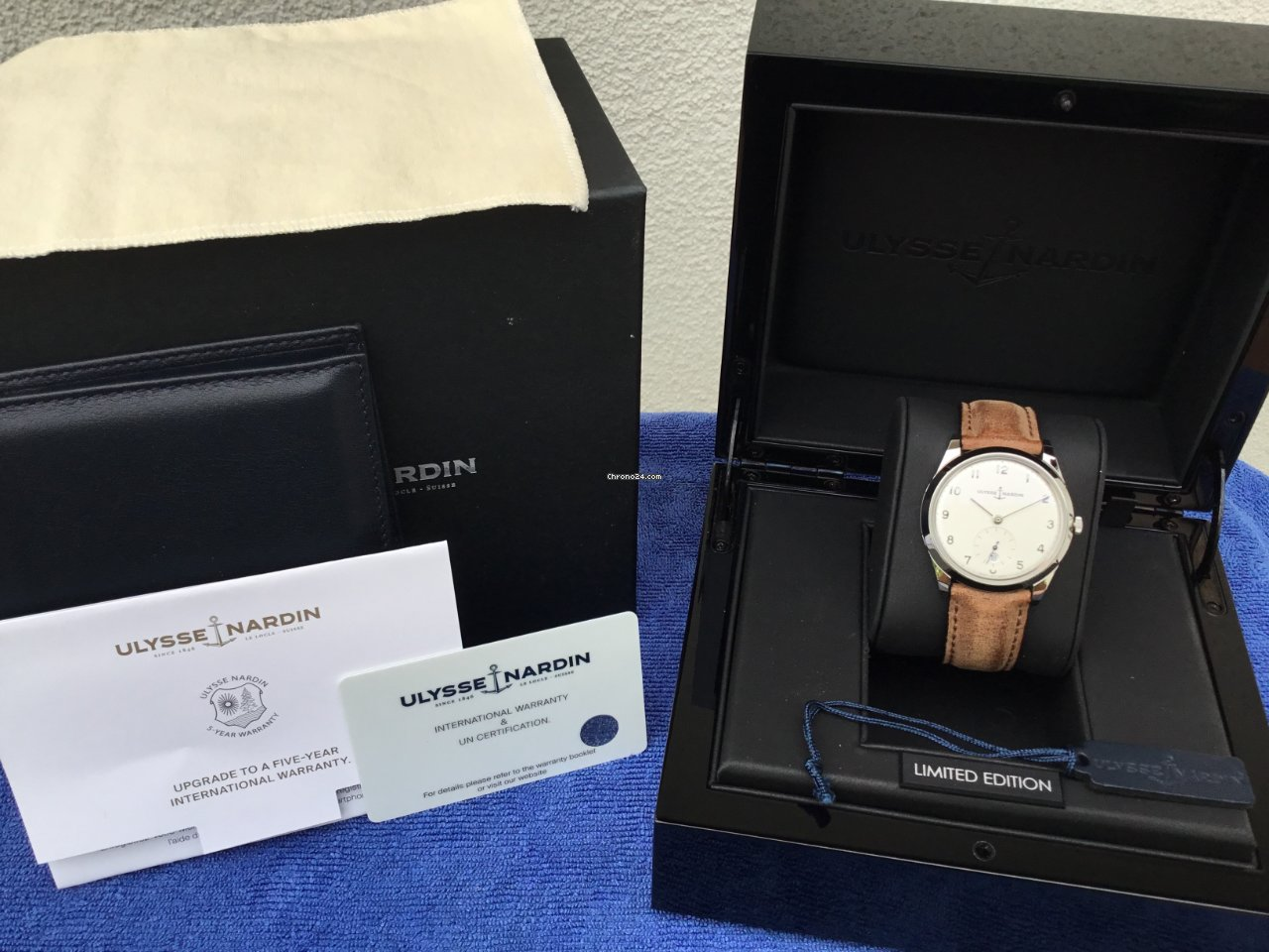 Ulysse Nardin Classico 3203-900 2018 pre-owned
