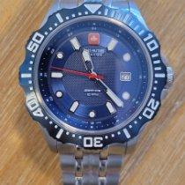 Swiss Military Steel 44mm Quartz 06-5306.04.003 pre-owned