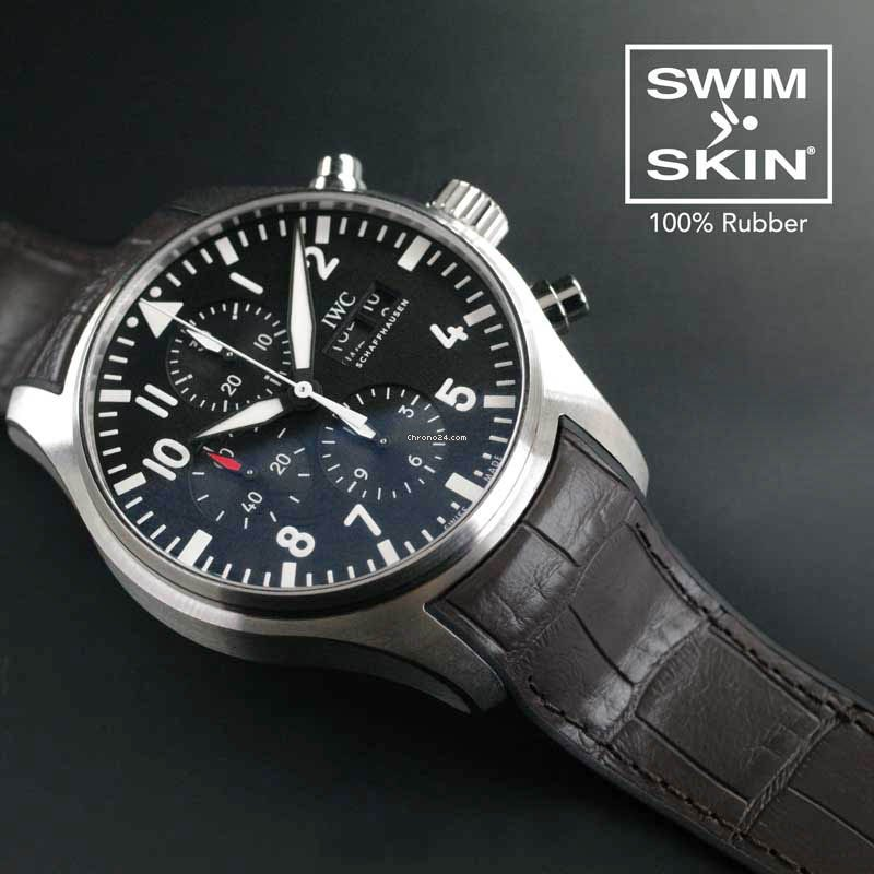 IWC Pilot Chrono - SwimSkin Alligator SK21/AG-ES 2021 new