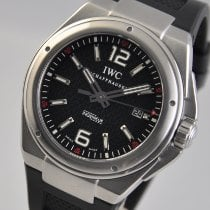 IWC Ingenieur Automatic pre-owned 46mm Black Date Rubber