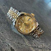 Rolex Sky-Dweller Gold/Steel 42mm Gold No numerals Australia, Paddington