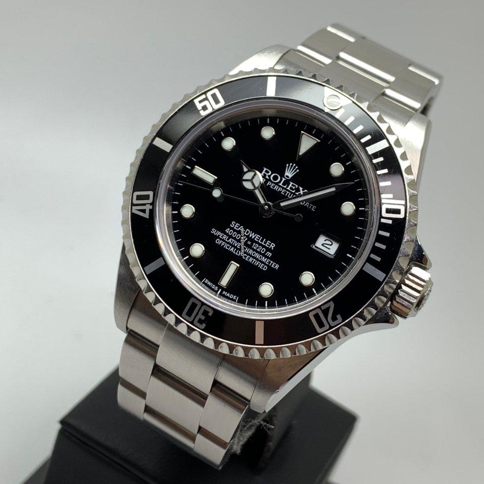 Rolex Sea-Dweller 40mm 16600 FULL SET MINT LC EU 2006