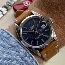 Rolex Oyster Perpetual Date Steel 34mm Blue United Kingdom, Norwich