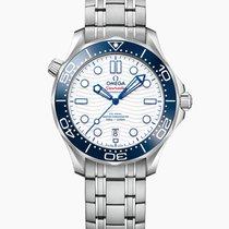 歐米茄 Seamaster Diver 300 M 鋼 42mm 白色 無數字 香港