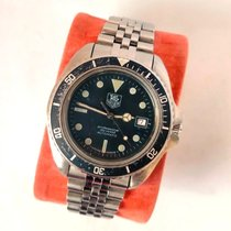 TAG Heuer Steel 42mm Automatic 844/5 pre-owned United Kingdom, Esher