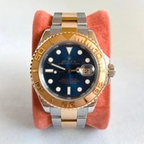 Rolex Yacht-Master 40 Gold/Steel 40mm Blue No numerals United Kingdom, Esher