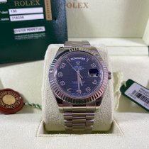 Rolex Or blanc 41mm Remontage automatique 218239 occasion
