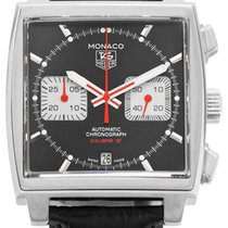 TAG Heuer CAW2114.FC6177 Steel 2010 Monaco Calibre 12 39mm pre-owned