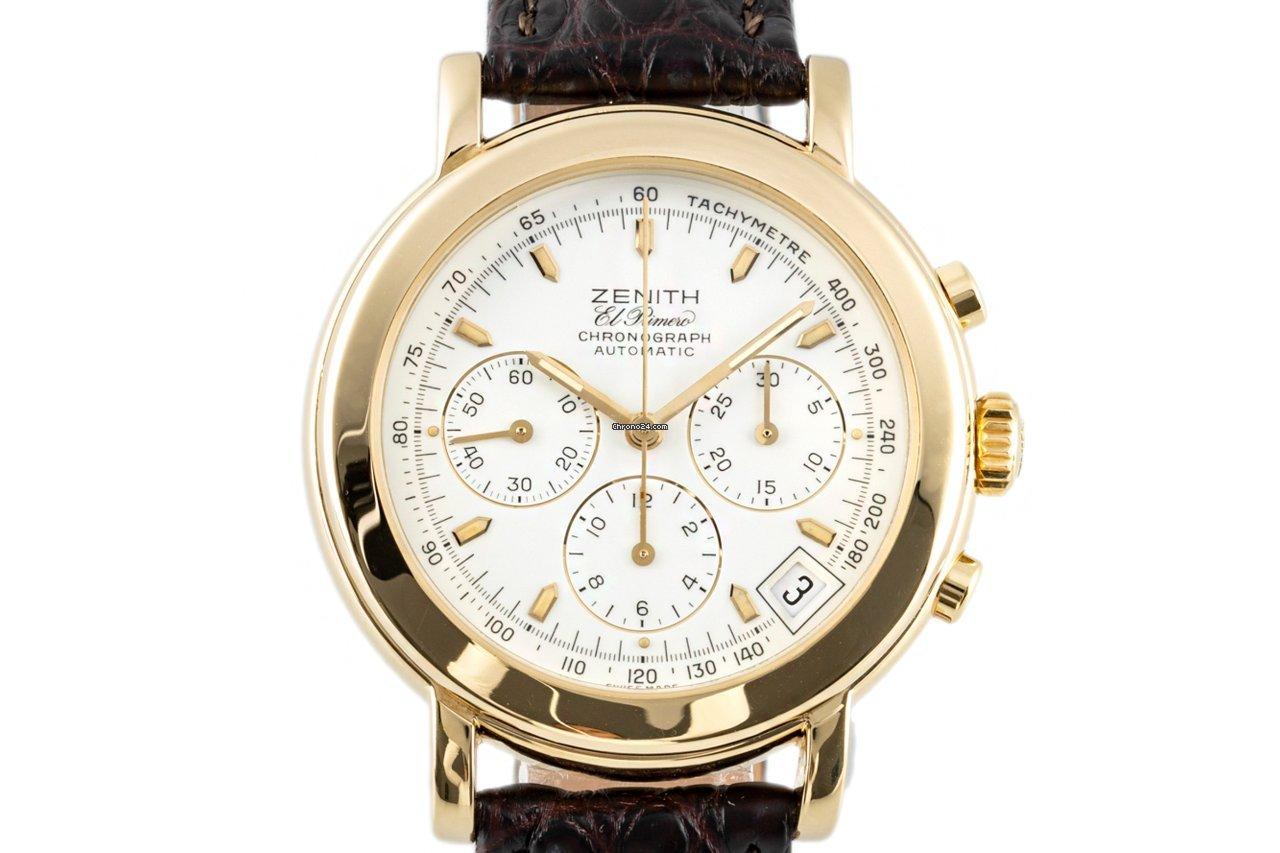 Zenith El Primero Chronograph 06-0250-400 1994 tweedehands