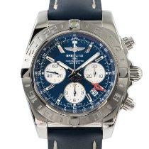 Breitling Chronomat 44 GMT Steel 43mm Blue