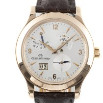 Jaeger-LeCoultre Master Eight Days Red gold 41.5mm Silver