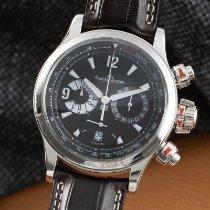 Jaeger-LeCoultre Master Compressor Chronograph Acero 41mm Negro