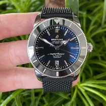 Breitling Superocean Heritage II 46 подержанные 46mm Черный Дата Каучук