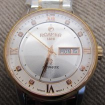 Roamer new Automatic Display back Gemstones and/or diamonds PVD/DLC coating 40mm Steel Sapphire crystal
