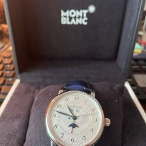 Montblanc Star Steel 42mm Silver Arabic numerals United States of America, New Jersey, Jersey City