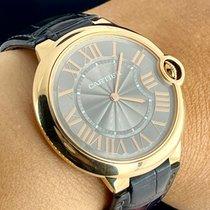 Cartier Ballon Bleu 40mm Pозовое золото 40mm Cерый Римские