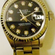 Rolex Oyster Perpetual Lady Date Steel 26mm Black Canada, Toronto ON