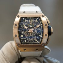 Richard Mille Rose gold Automatic Transparent pre-owned RM 011