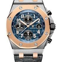Audemars Piguet Royal Oak Offshore Chronograph Gold/Steel 42mm Blue Arabic numerals