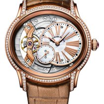 Audemars Piguet Millenary Ladies Rose gold 39.5mm Mother of pearl Roman numerals United States of America, New York, New York