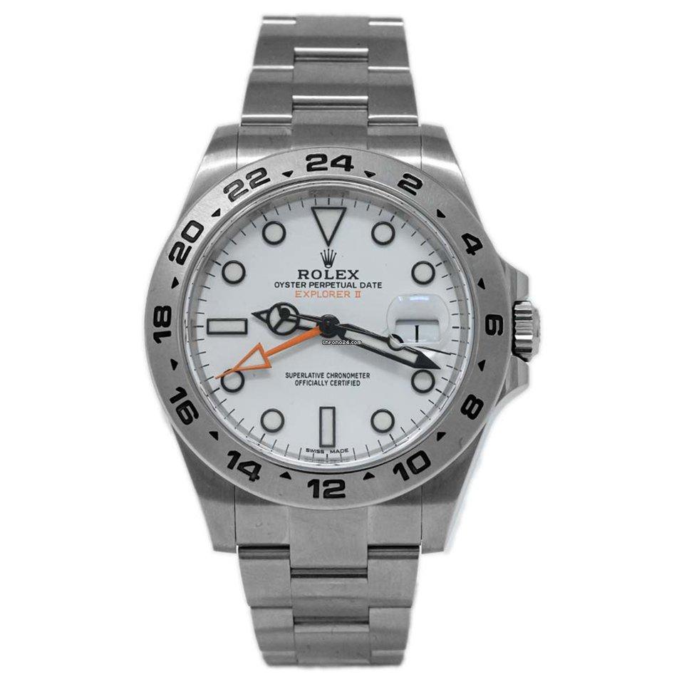 Rolex Explorer II 216570 2014 pre-owned