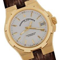 Vacheron Constantin Yellow gold Automatic White 37mm new Overseas