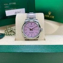Rolex Oyster Perpetual 31 Сталь 31mm Розовый Без цифр