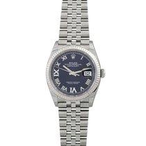 Rolex Lady-Datejust Zeljezo 36mm Ljubicast Bez brojeva