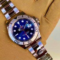 Rolex Yacht-Master 40 Платина 40mm Синий Без цифр Россия, москва