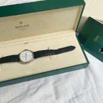Rolex Cellini Time подержанные 39mm Белый Застежка-шип