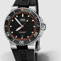 Oris Aquis Date Steel 43mm Black No numerals United States of America, New Jersey, Princeton