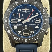 Breitling Endurance Pro Plástico 44mm Azul Arábigos