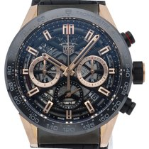 TAG Heuer Or rose Remontage automatique 43mm occasion Carrera
