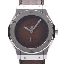 Hublot Platinum Automatic Brown 45mm pre-owned Classic Fusion 45, 42, 38, 33 mm