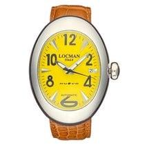 Locman Nuovo Steel 40mm Yellow Arabic numerals United States of America, New York, New York