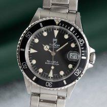 Tudor Submariner Steel 36mm Black