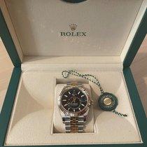 Rolex Sky-Dweller 326933 Yeni Altın/Çelik 42mm Otomatik