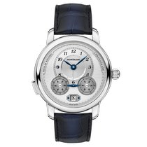 Montblanc Nicolas Rieussec 118537 Ny Stål 44.8mm Automatisk