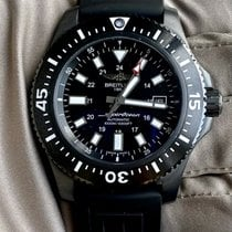 Breitling Superocean 44 pre-owned 44mm Black Rubber