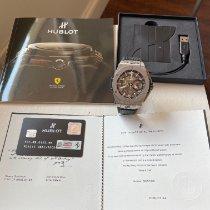 Hublot Big Bang Ferrari new 2014 Automatic Watch with original box and original papers 401.NJ.5123.VR.TEX16