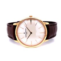 Vacheron Constantin Rose gold Manual winding Silver No numerals 40mm pre-owned Patrimony